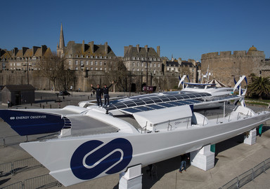Energy Observer, the first hydrogen-powered boat