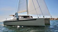 SwissCat S48: A bespoke epoxy catamaran.