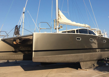 Protecting a multihull: vinyl wrap or paint?