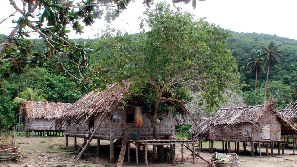 La case du chef du village, à Talfaur