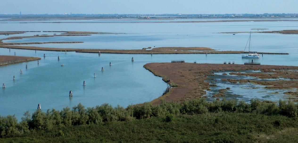 The Venetian lagoon, a paradise for catamarans!
