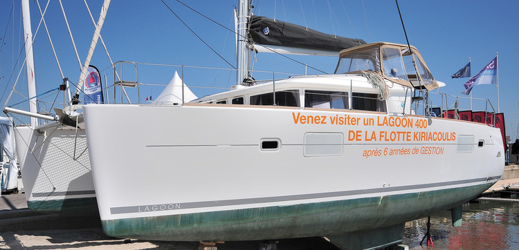 A catamaran that works and keeps in shape!