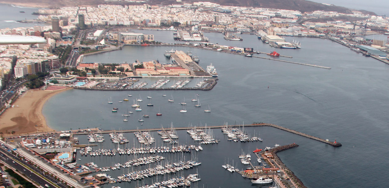 For many Europeans, the port of Las Palmas in the Canaries marks the beginning of a big adventure…