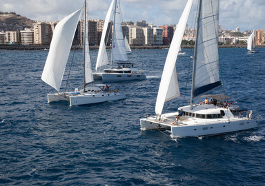 186 boats at the start of the ARC