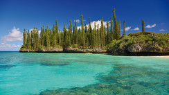 Gadji, magical anchorage in New-Caledonia