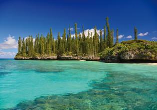 Gadji, magical anchorage in New-Caledonia