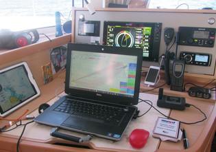 Internet aboard when coastal cruising