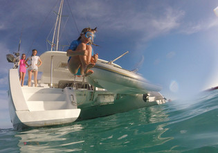 Vienna: two weeks cruising in the Los Canarreos archipelago, in Cuba.