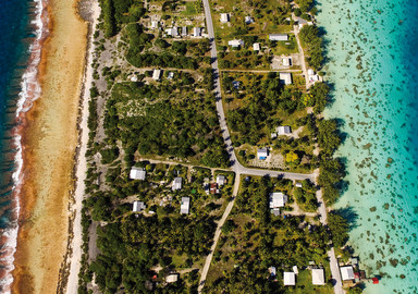 Around 150m wide and 60 km long, Fakarava is surrounded by superb water.