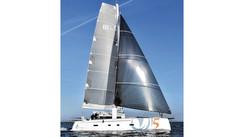 TS5: A sporty cruising catamaran