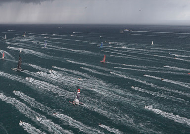 The start, always a very intense time, for both the spectators but also for the sailors who are living their dream!