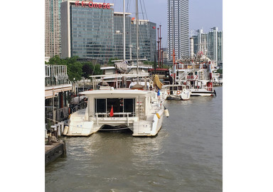 Catamarans in Shanghai