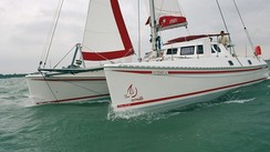Outremer 42 secondhand boat: she hasn't sold her soul to the devil!