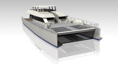 Two Oceans 110 Day Charter Power Catamaran