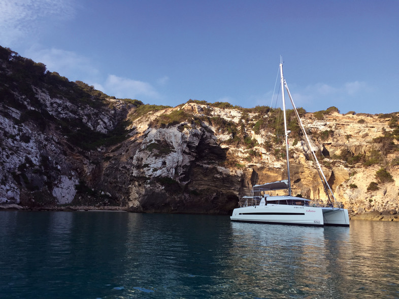 Destination the Balearics :The catamaran is the best way to discover the place