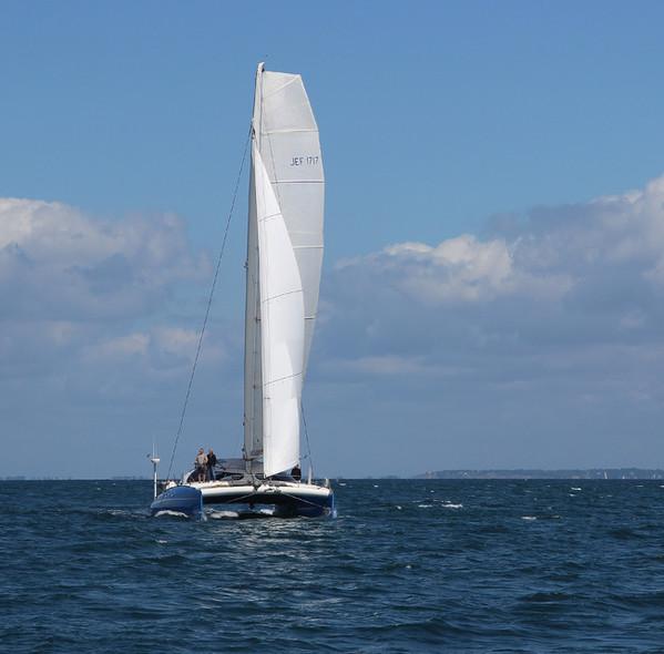 Jean-François Desmars catamaran main sail