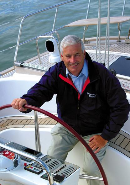 John Charnley multihulls main sail Discovery 50