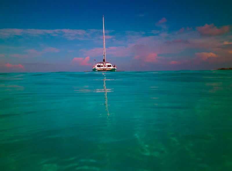 Across the Maldives