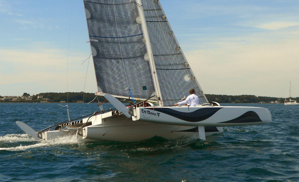Catamaran basics The daggerboards: understanding and