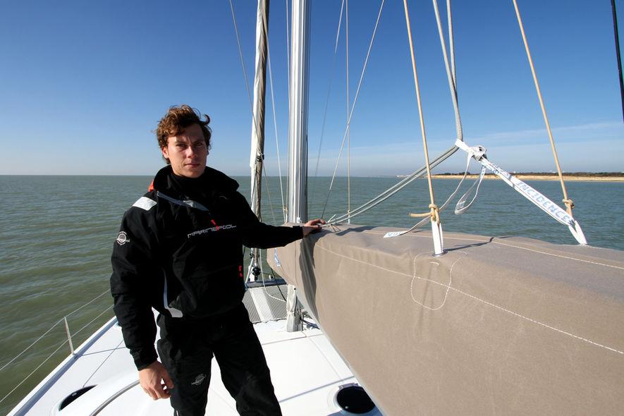 Setting the mainsail step 3