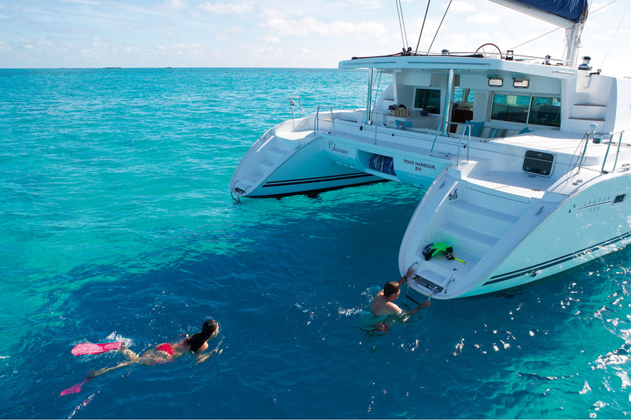 Find your itineraries - catamaran charter caribbean
