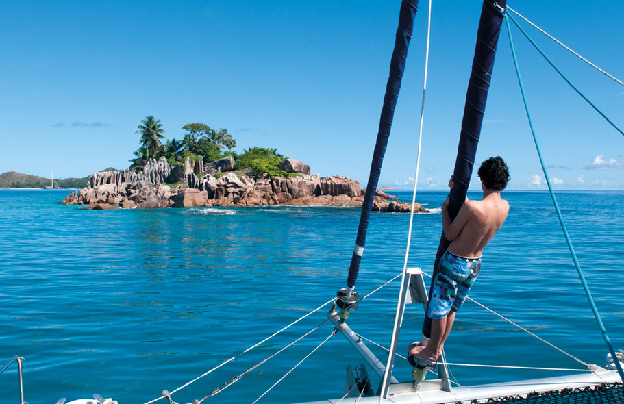 Find your itineraries - catamaran charter Seychelles
