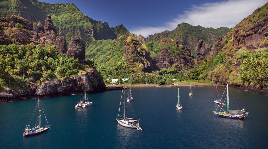 Cruising in Marquesas Islands
