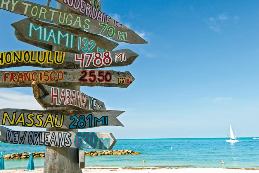 Miami and the Keys - cruising