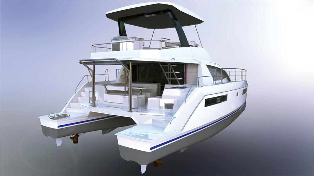Paris Boat Show - motor multihulls