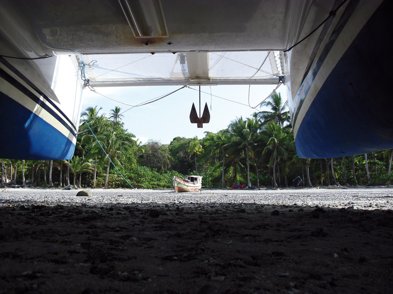 Spot in catamaran