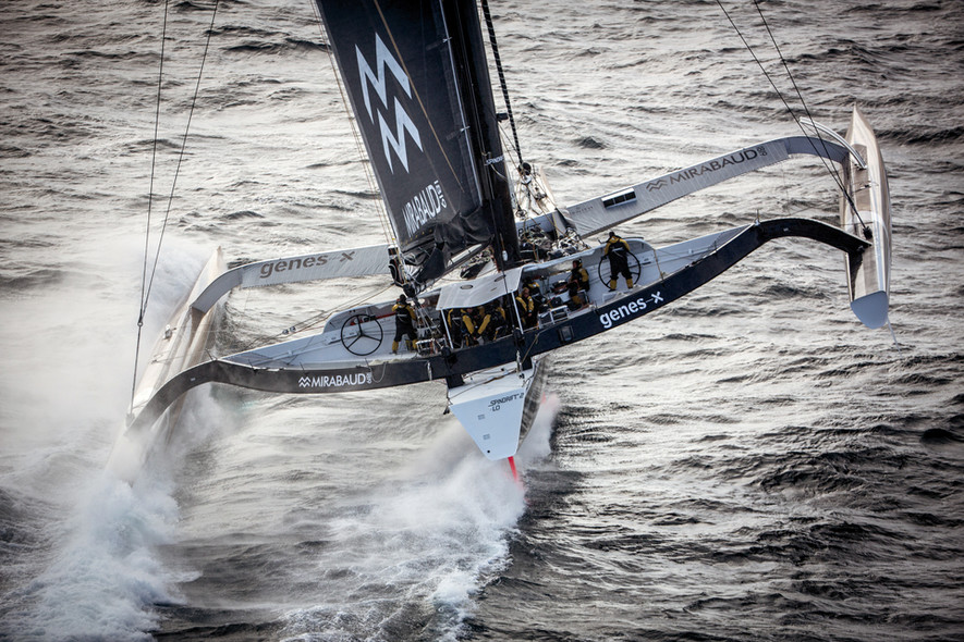 Spindrift 2 and Idec - world record