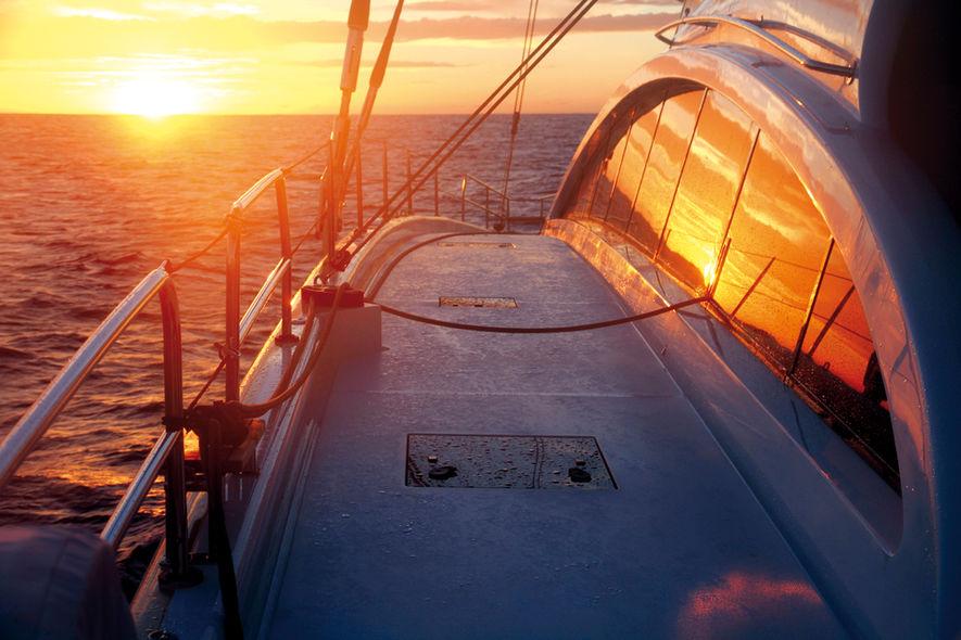 Dream to cross the Atlantic ocean
