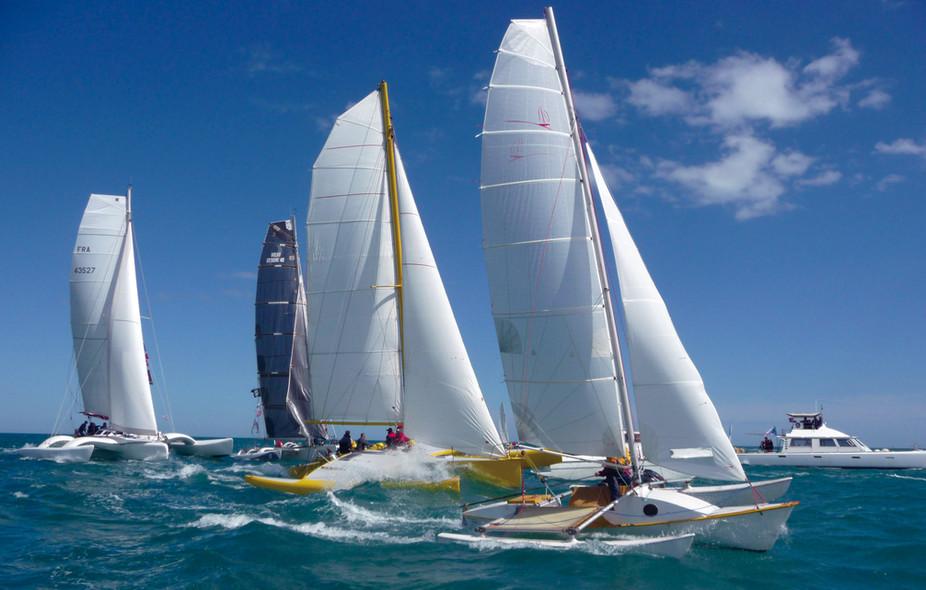 Trimaran or catamaran for cruising?