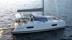 And the new 42 from Fountaine Pajot is called…