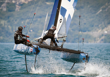 Garda Foiling Week – why not fly?