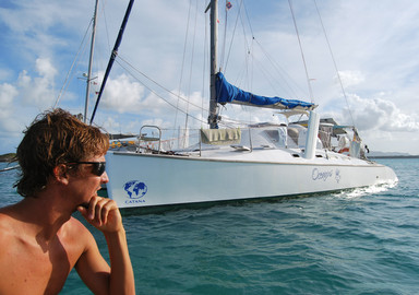 Oceanus, a transat after 30 years, for the first Catana 40