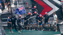 The 35th America's Cup goes to the New Zealanders