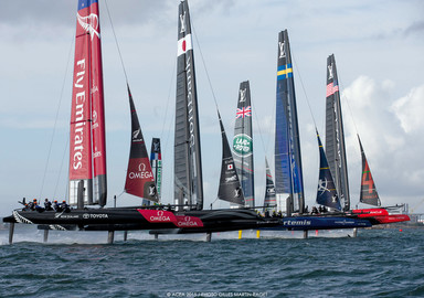America's Cup: The first regattas of the 35th edition