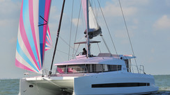 Video: the first images of our test onboard the Bali 4.1 catamaran