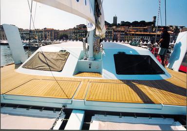 Catamaran basics Fitting new portlights