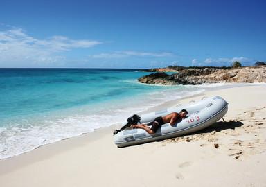 Catamaran basics Maintaining your outboard motor