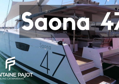 The new 47 from Fountaine Pajot is called…
