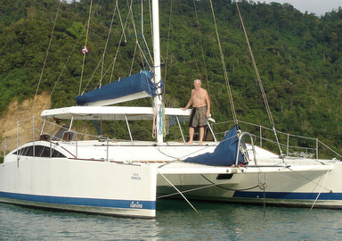 Our readers around the world:  Surf trip in a catamaran