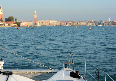 Our readers around the world:  Venice by catamaran