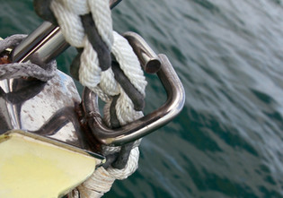 Catamaran basics : A chain/rope splice for the anchor rode