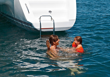 Our children have the time of their lives on board.