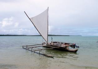 Toward the Ile des Pins and Nouméa…