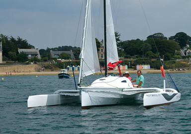 Tricat 25 Evolution It sails fast and it's easy!