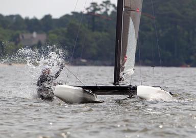 VIDEO: Enjoy the Class-A catamaran