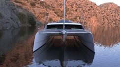 A 60 feet catamaran designed by O Yachts